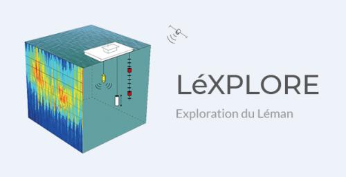 The experimental platform LéXPLORE (Exploration of Lake Geneva) named !