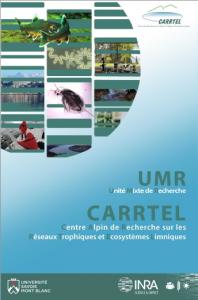 page de couverture plaquette UMR CARRTEL