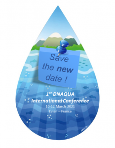 Save the NEW  date ! DNAQUA International Conference