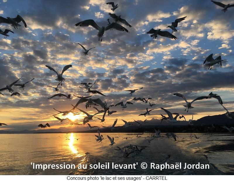 'Impression au soleil levant' © Raphaël Jordan