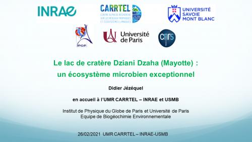 REPLAY : Conférence CARRTEL du 26/02/2021 Didier JEZEQUEL