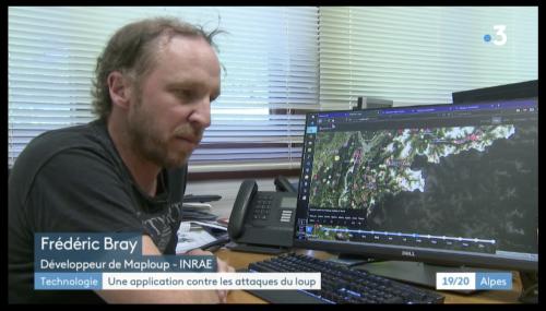 France 3 Alpes - Présentation de l'application Maploup